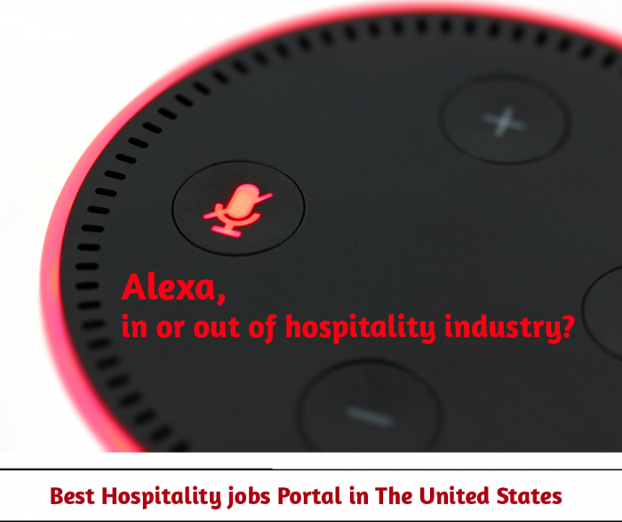 Alexa! A warm welcome to the hospitality industry