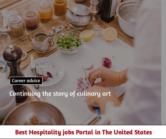 Culinary arts – continuation