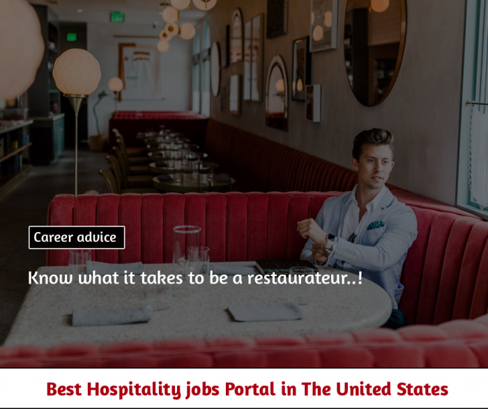 Know what it takes to be a restaurateur!