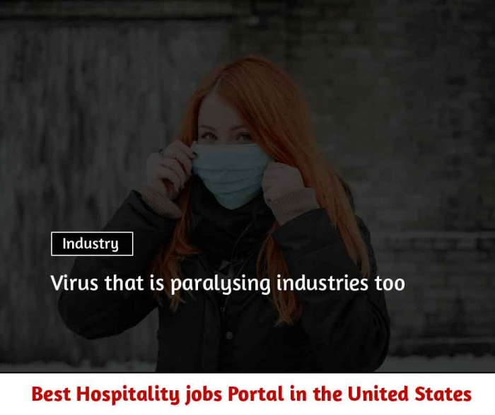 Coronavirus influence on the hospitality industry and viewpoints
